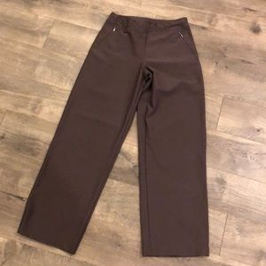 Lucy Tech Yoga Pants Size Medium Brown Exercise